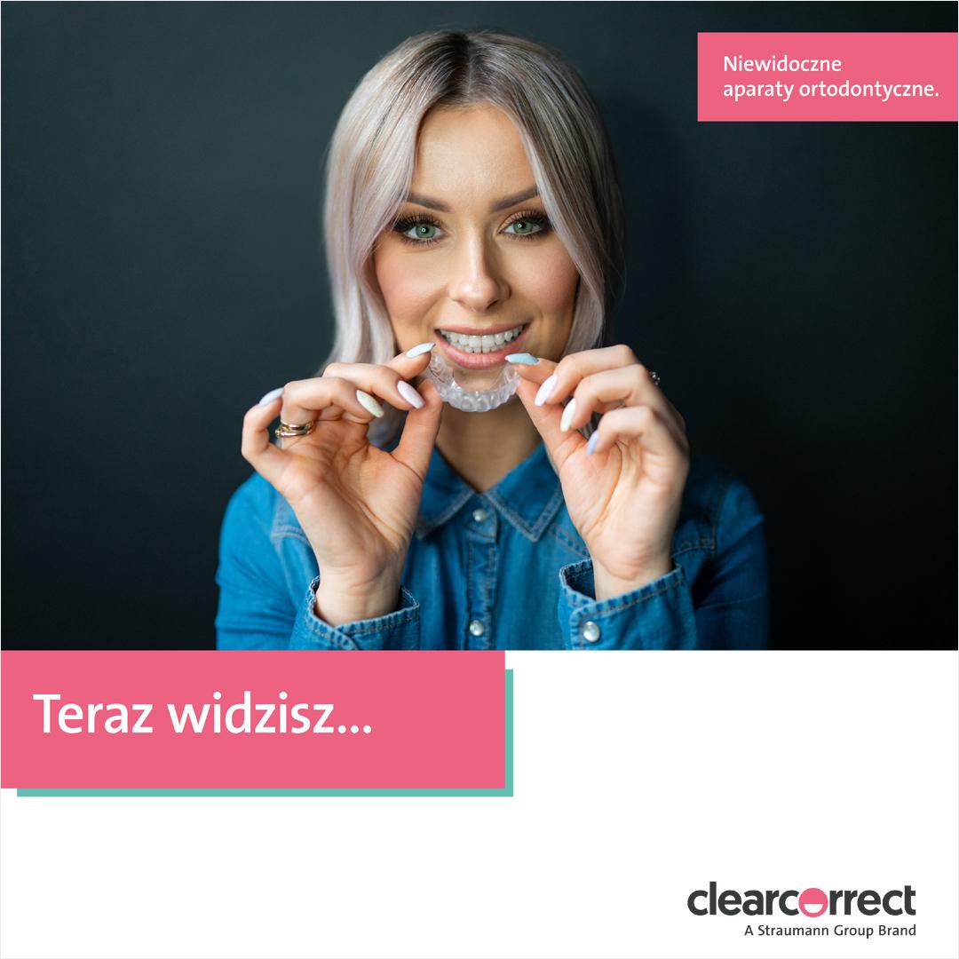 ClearCorrect broszura dla pacjentów – Klaudia Klamann